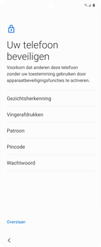 Samsung Galaxy Z Flip Single-SIM + eSIM (SM-F700F) - Instellingen aanpassen - Nieuw toestel instellen - Stap 17