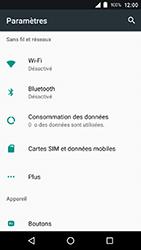 Crosscall Action X3 - Réseau - Activer 4G/LTE - Étape 4