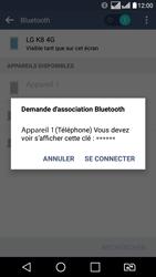 LG K8 - Bluetooth - connexion Bluetooth - Étape 10