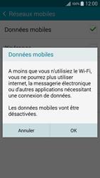 Samsung Galaxy A3 (A300FU) - Internet et connexion - Désactiver la connexion Internet - Étape 7
