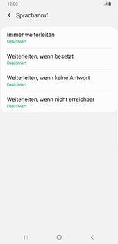 Samsung Galaxy S9 Plus - Android Pie - Anrufe - Rufumleitungen setzen und löschen - Schritt 9