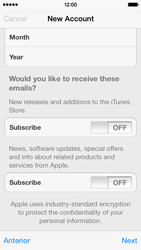 Apple iPhone 5c - Applications - setting up the application store - Step 17