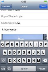 Apple iPhone 4 - E-mail - Hoe te versturen - Stap 10