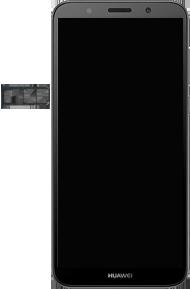 Huawei Y5 (2018) - Premiers pas - Insérer la carte SIM - Étape 4