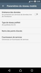 Sony Xperia X - Internet et connexion - Activer la 4G - Étape 8