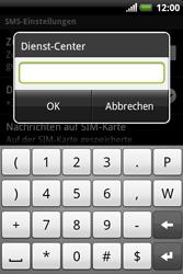HTC A310e Explorer - SMS - Manuelle Konfiguration - Schritt 8