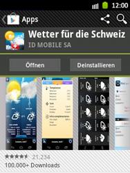 Samsung Galaxy Y - Apps - Installieren von Apps - Schritt 17