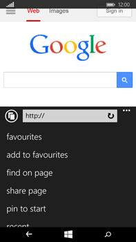 Microsoft Lumia 640 XL - Internet - Internet browsing - Step 11