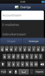 Samsung S8600 Wave 3 - E-mail - e-mail instellen: IMAP (aanbevolen) - Stap 6