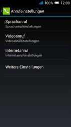 Alcatel Pop C7 - Anrufe - Rufumleitungen setzen und löschen - 6 / 11