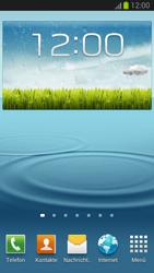 Samsung Galaxy S III LTE - Startanleitung - Installieren von Widgets und Apps auf der Startseite - Schritt 7