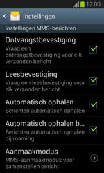 Samsung S7390 Galaxy Trend Lite - MMS - probleem met ontvangen - Stap 7
