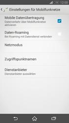 Sony D5803 Xperia Z3 Compact - Internet - Manuelle Konfiguration - Schritt 7