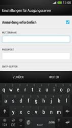 HTC One Mini - E-Mail - Konto einrichten - Schritt 12