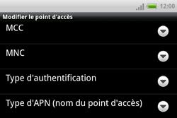HTC A810e ChaCha - MMS - Configuration manuelle - Étape 11