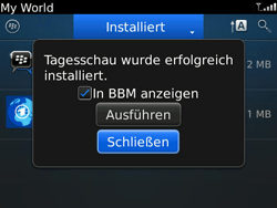 BlackBerry Bold - Apps - Herunterladen - 7 / 11