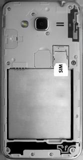 Samsung Galaxy J3 (SM-J320FN) - Instellingen aanpassen - SIM-Kaart plaatsen - Stap 4