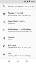 Nokia 1 - Internet - Désactiver les données mobiles - Étape 4