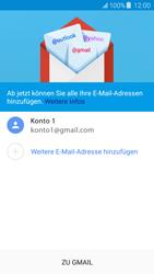 Samsung Galaxy J5 (2016) - E-Mail - Konto einrichten (gmail) - 0 / 0