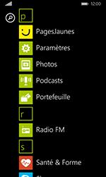 Nokia Lumia 635 - Internet et connexion - Partager votre connexion en Wi-Fi - Étape 3