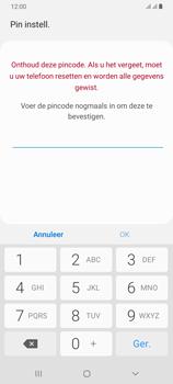 Samsung Galaxy A70 - Beveiliging en privacy - automatische schermblokkering instellen - Stap 9