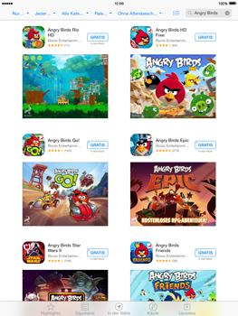 Apple iPad Air iOS 8 - Apps - Installieren von Apps - Schritt 13