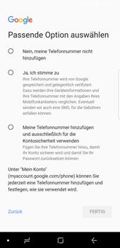 Samsung Galaxy S9 - Apps - Konto anlegen und einrichten - 15 / 21