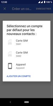 Crosscall Core M4 - Contact, Appels, SMS/MMS - Ajouter un contact - Étape 5