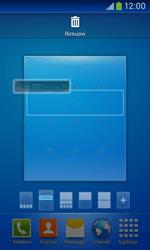 Samsung Galaxy Ace III - Operazioni iniziali - Installazione di widget e applicazioni nella schermata iniziale - Fase 7