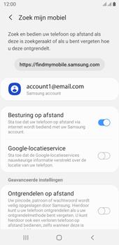 Samsung galaxy-j6-sm-j600fn-ds-android-pie - Beveiliging en ouderlijk toezicht - Zoek mijn mobiel inschakelen - Stap 7