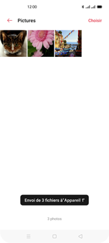 Oppo Reno 4Z - Photos, vidéos, musique - Envoyer une photo via Bluetooth - Étape 15