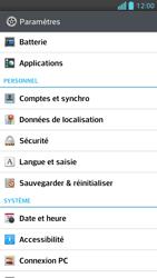 LG Optimus F5 - Sécuriser votre mobile - Personnaliser le code PIN de votre carte SIM - Étape 4