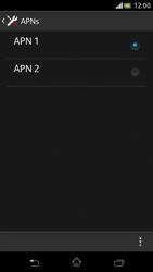 Sony Xperia V - MMS - Manuelle Konfiguration - Schritt 16