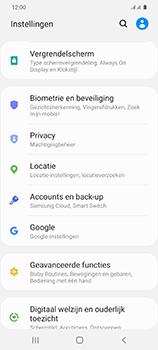 Samsung Galaxy S20 5G Dual-SIM eSIM SM-G981B - Beveiliging en ouderlijk toezicht - Hoe wijzig ik mijn SIM PIN-code - Stap 4