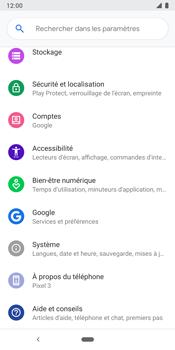 Google Pixel 3 - Aller plus loin - Gérer vos données depuis le portable - Étape 7