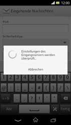 Sony Xperia L - E-Mail - Konto einrichten - 0 / 0