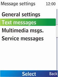 Nokia X2-00 - SMS - Manual configuration - Step 6
