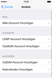 Apple iPhone 4 S - E-Mail - Konto einrichten - 6 / 29