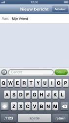 Apple iPhone 5 - MMS - Afbeeldingen verzenden - Stap 6