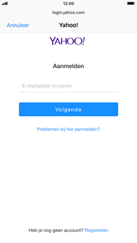 Apple iPhone 6 Plus - iOS 12 - E-mail - Handmatig instellen (yahoo) - Stap 6