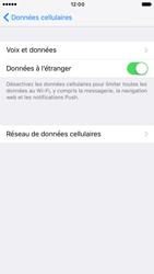 Apple iPhone 6s iOS 10 - Internet et roaming de données - Désactivation du roaming de données - Étape 5