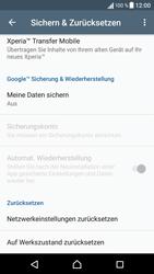 Sony Xperia X - Fehlerbehebung - Handy zurücksetzen - 7 / 11