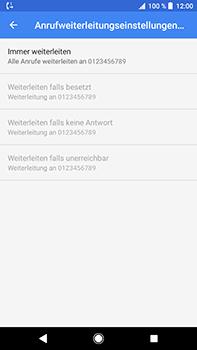 Sony Xperia XZ2 Premium - Anrufe - Rufumleitungen setzen und löschen - Schritt 12