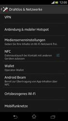 Sony Xperia V - Internet und Datenroaming - Deaktivieren von Datenroaming - Schritt 5