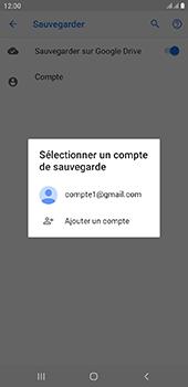 Samsung Galaxy J6 Plus - Données - créer une sauvegarde avec votre compte - Étape 9