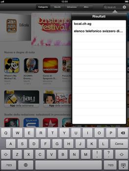 Apple iPad mini - Applicazioni - Installazione delle applicazioni - Fase 5