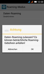 Alcatel Pop C3 - Ausland - Im Ausland surfen – Datenroaming - 12 / 15