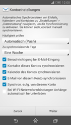 Sony Xperia Z3 Compact - E-Mail - 032c. Email wizard - Outlook - Schritt 8