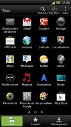 HTC One S - Internet et connexion - Désactiver la connexion Internet - Étape 3