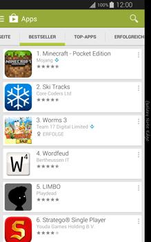 Samsung Galaxy Note Edge - Apps - Installieren von Apps - Schritt 7